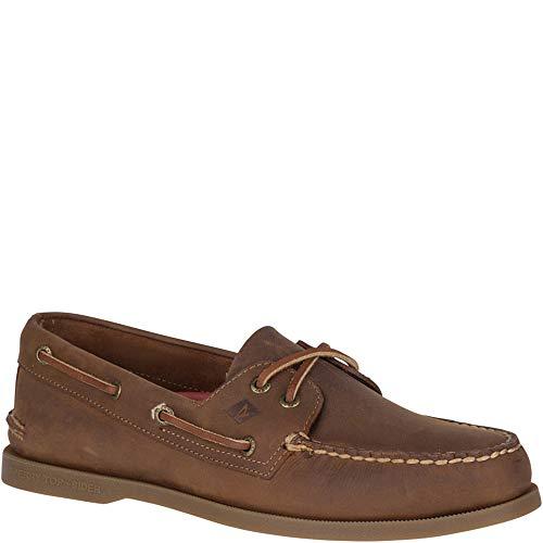 (Sperry Men's A/O 2-Eye Richtown Boat Shoe Oxford, Brown, 11.5 M US)