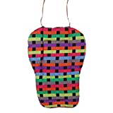Baby Stroller Cushion Pushchair Seat Pad Colorful Grid