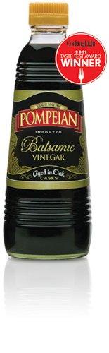Balsamic Pasta Italian (Pompeian Balsamic Vinegar Aged in Oak 16 Oz (Pack of 2))