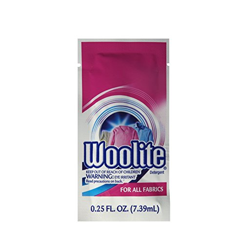 Woolite Travel Laundry Soap - 20 Packs. $ at Amazon. These are very helpful in keeping your packing light, since you can hand-wash at least a couple outfits. I usually have some in my kit.
