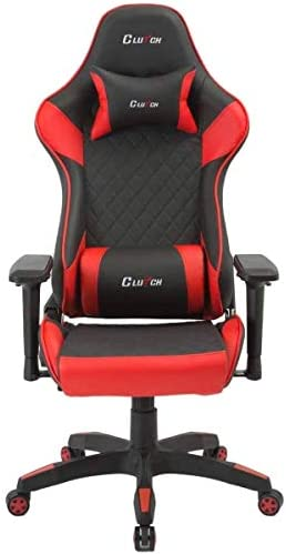 CLUTCH CHAIRZ Track Series Bravo Ergonomic Video Gaming Chair to Your Home or Office