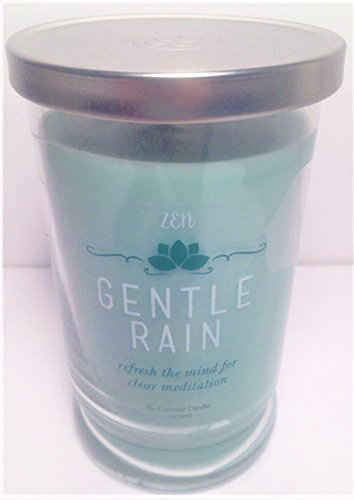 Zen Spa-Style Scented Candle ''GENTLE RAIN'' in Tumbler with Lid, 12oz. by Colonial Candle (Image #3)
