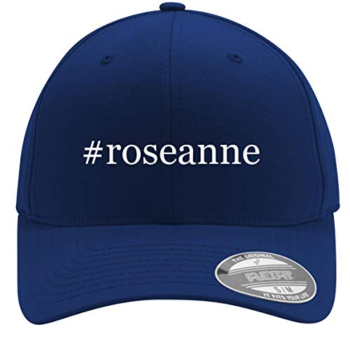 #Roseanne - Adult Men's Hashtag Flexfit Baseball Hat Cap, Blue, Large/X-Large ()