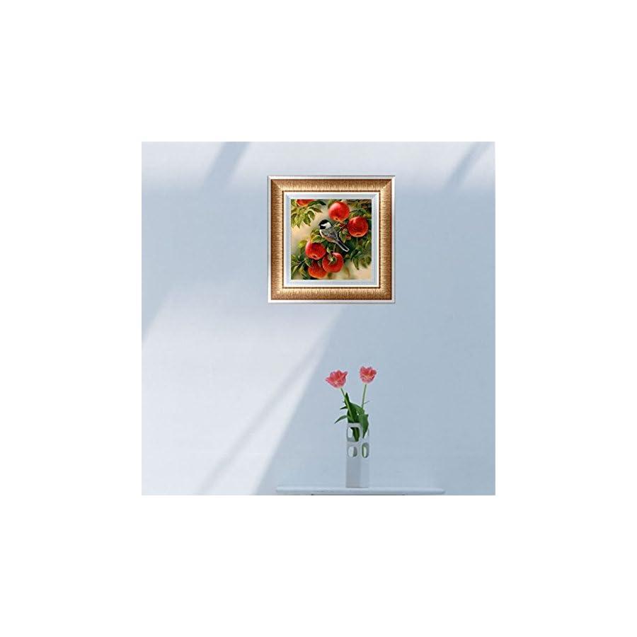 SCASTOE Apple DIY 5D Diamond Embroidery Fruit Painting Cross Stitch Craft Home Decor
