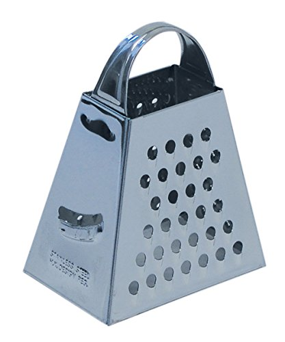 CybrTrayd Mini Grater for Cheese, Chocolate, Nuts and More, Stainless Steel (Mini Cheese Grater)