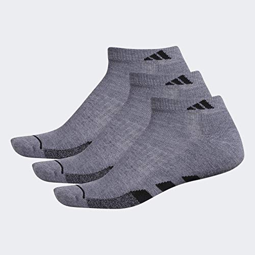 adidas Mens Cushioned Low Cut Socks (3-Pack)