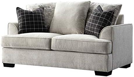 Acanva Luxury Contemporary Chenille Living Room Sofa - a good cheap living room sofa