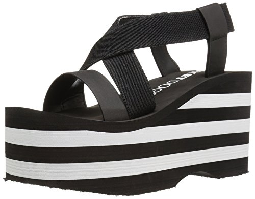 rocket-dog-womens-bayer-webbing-smooth-pu-withstriped-eva-wedge-sandal-black-8-m-us