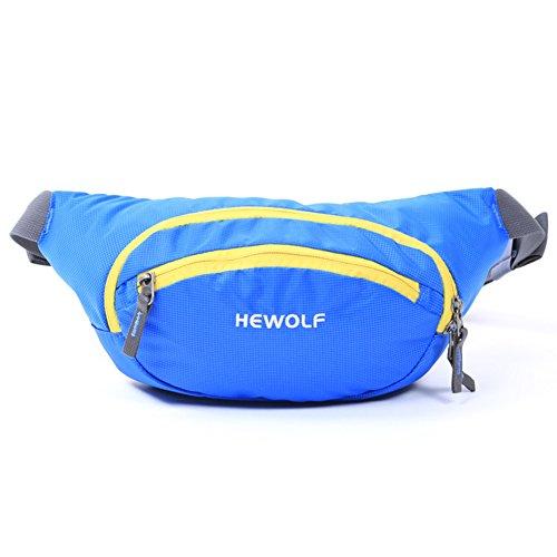 Bolsillos exteriores/Paquete Sport/Bolsos camping casuales-naranja 1 azul