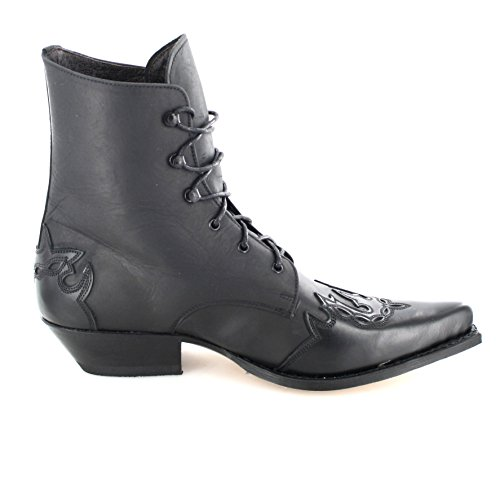 Sendra Boots Western Ladies Ankle 11699 Schnürstiefelette (in different colours) Black low shipping official sale online cheap sale pictures cheap sale best prices amazon sale online iNQVEwUp
