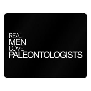 Idakoos Real men love Paleontologists - Occupations - Plastic Acrylic