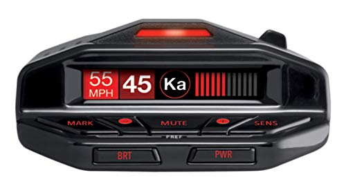 Short Range Radar - Escort Redline EX Radar Detector with Escort Live - Extreme Range, False Alert Filter, OLED Display, Voice Alerts