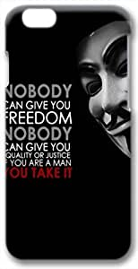Anonymous Quote 3D iPhone 6 Case