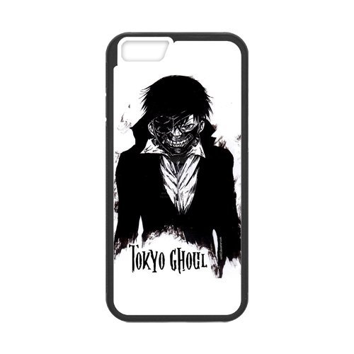 "Fayruz - iPhone 6 Rubber Cases, Tokyo Ghoul Hard Phone Cover for iPhone 6 4.7"" F-i5G130"