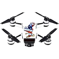 Skin For DJI Spark Mini – American Eagle | MightySkins Protective, Durable, and Unique Vinyl Decal wrap cover | Easy To Apply, Remove, and Change Styles | Made in the USA