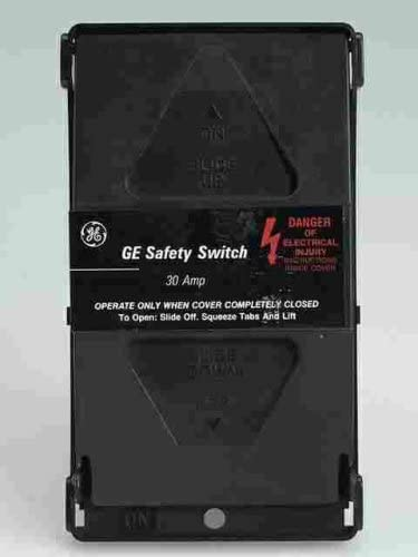 Ge Safety Switch 30 Amp 120 V Boxed