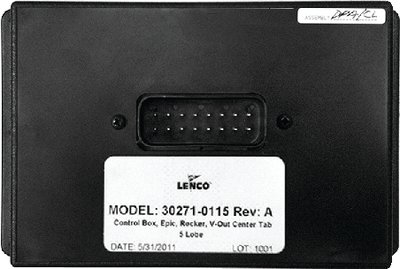 (Lenco Replacement Tow Boat Control Box)