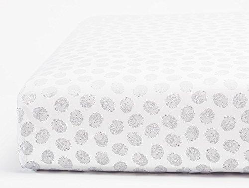 Coyuchi Organic Crib Sheets - Hedgehog Print