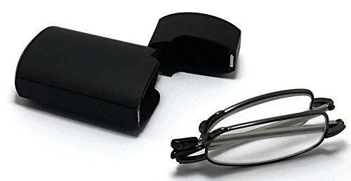65a0eb8bb6f MT151B High Quailty Telescopic Black + Silver Alloy Folding Reading Glasses  +1.0+1.5+2.0+2.5 (Black