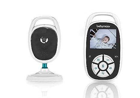 Babymoov YOO See Vigilabebé con Cámara - Pantalla LCD de Color de 2.4