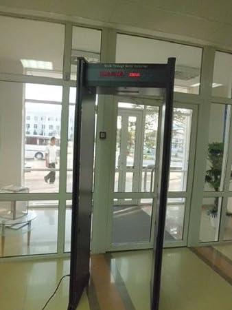 Aeropuerto de Seguridad Detector de Paseo a Través de Metal Nuevo: Amazon.es: Jardín