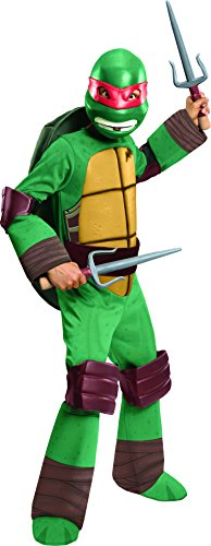 Teenage Mutant Ninja Turtles Deluxe Raphael Costume, Large