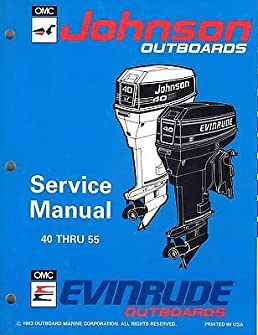 1994 johnson evinrude outboard 40 thru 55 service manual 500608 (408 35 hp evinrude wiring diagram 1994 johnson evinrude outboard 40 thru 55 service manual 500608 (408) omc amazon com books