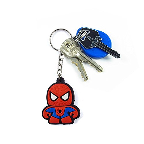 Chaveiro Emborrachado Cute Homem Aranha