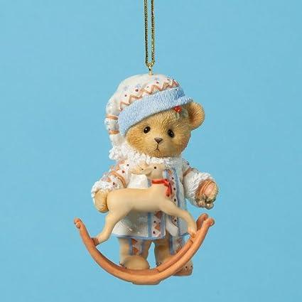 Cherished Teddies Treasured Toyland Bear Christmas Ornament 4026275 - Amazon.com: Cherished Teddies Treasured Toyland Bear Christmas