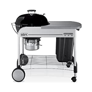 Weber 1411001 Performer Charcoal Grill, Black