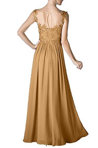Beliebt Chiffon Promkleid lang Spitze Ivydressing Brautjungfernkleid Linie Rundkragen Abendkleid Bildfarbe Damen Festkleid A BqPOXw