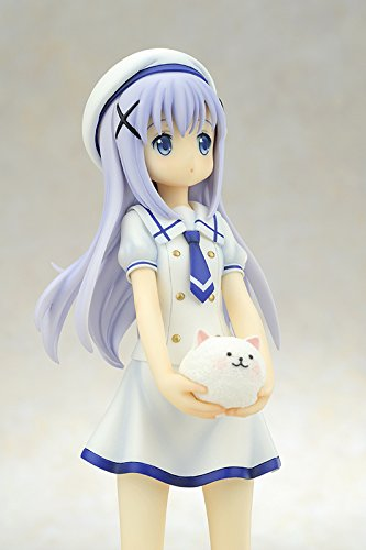 Diamond Comic Distributors DEC148750 Summer Uniform quesQ is The Order a Rabbit: Chino Kafu 1:7 Scale PVC Figure Statue