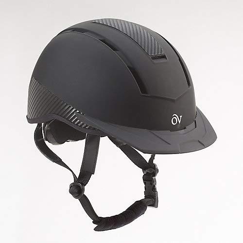 Ovation Unisex Extreme Riding Helmet, Black, Medium/Large