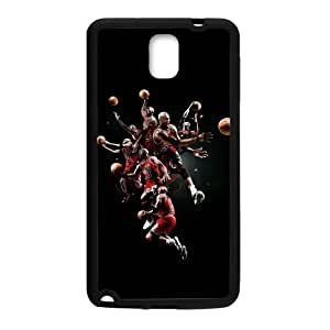 Coolest Air Michael Jordan Playing Basketball Case Cover for Samsung Galaxy Note 3 (Laser Technology)