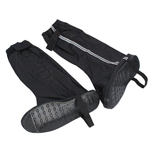 Nueva motocicleta impermeable Biker Gear Lluvia Boot Zapatos Protectora Negro 42–43