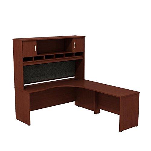 Bush Business Furniture Series C 72W RH Corner L-Desk with 72W 2-Door - Corner Rh