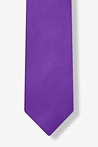 Royal Purple Royal Purple Silk Tie For Boys by  (Image #2)
