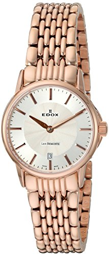 Edox-Womens-57001-37RM-AIR-Les-Bemonts-Analog-Display-Swiss-Quartz-Rose-Gold-Watch
