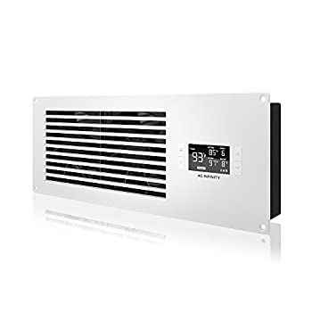 Image of AC Infinity AIRFRAME T7-N White, High-Airflow Cooling Fan System 16', Intake Airflow, for AV Equipment Rooms, Closets, and Enclosures Case Fans