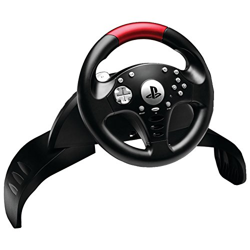 Thrustmaster Vg T60 Official Sony Licensed Racing Wheel   Playstation 3
