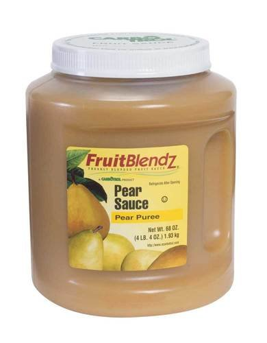 Carbotrol Pear Sauce 6 Case 68 Ounce by Leahy IFP