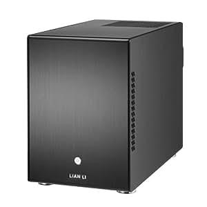Lian Li PC-Q25B - Caja de ordenador de sobremesa, negro