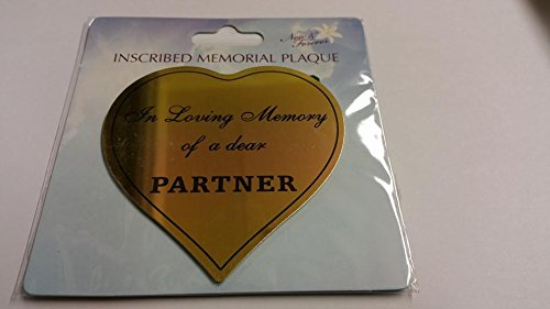 Partner sticker for memorial pots david fishcoff