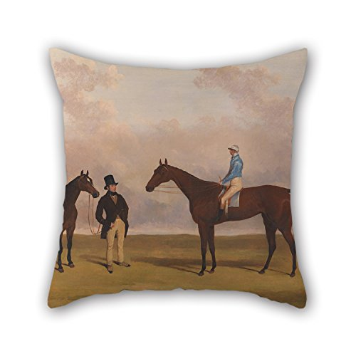 [Slimmingpiggy Oil Painting Harry Hall - 'Crucifix' With John Day Up Throw Cushion Covers 16 X 16 Inches / 40 By 40 Cm Best Choice For Indoor,teens,boys,home Office,deck Chair,sofa With Twice] (John Homestuck Costumes)