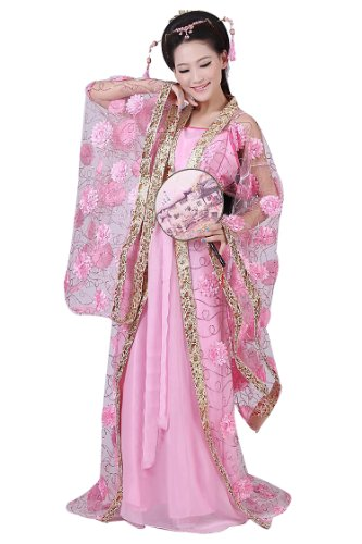 Bysun helloween women's costume Han Chinese clothing PinkFS (Han Chinese Clothing compare prices)