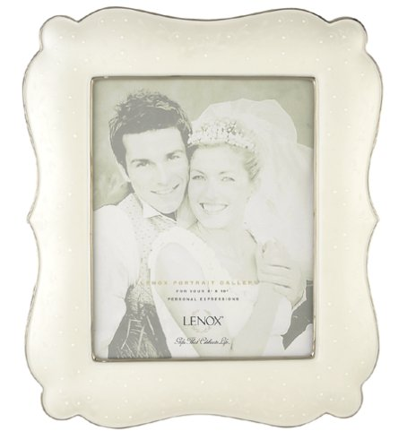 Lenox Wedding Promises Opal Innocence 8-by-10-Inch Frame ()