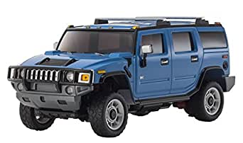 Kyosho Autoscale Mini-Z Overland Hummer H2 Replacement Body - Blue Vehicle