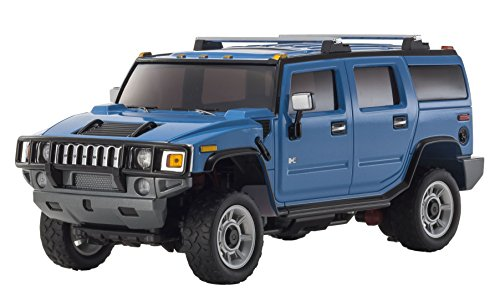 - Kyosho Autoscale Mini-Z Overland Hummer H2 Replacement Body - Blue Vehicle