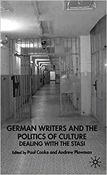Descargar U Torrents German Writers And The Politics Of Culture: Dealing With The Stasi PDF Español