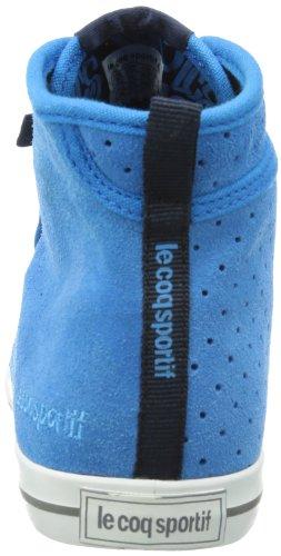 Le coq Sportif Voya Mid - Altas de cuero mujer azul - Blau (Blue aster)